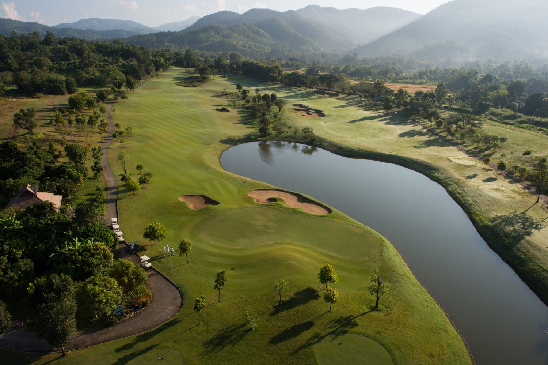 Golfing in Thailand 1