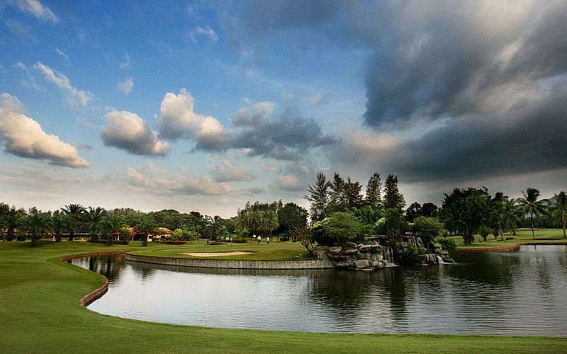 Golfen in Thailand 6