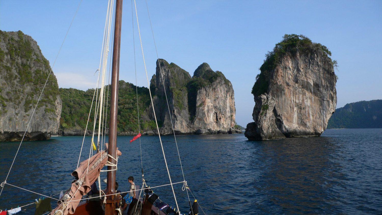Dauw Talae Dschunken Kreuzfahrt - Blaue Reisen in der Andamanischen See
