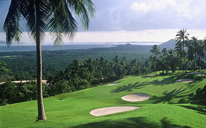 Golfen in Thailand 4