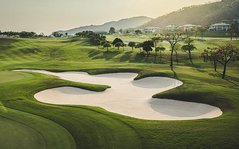 Golfen in Thailand 3