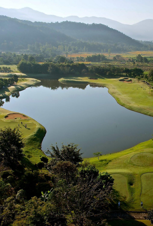 Golfen in Thailand 1